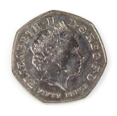 A Kew Gardens 50p coin - 2