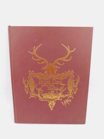 Millais (John Guille). British Deer and Their Horns