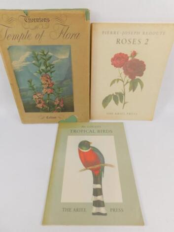 Illustrated. - 3 facsimile illustrated vols Fauna & Flora; Thornton's Temple of Floral