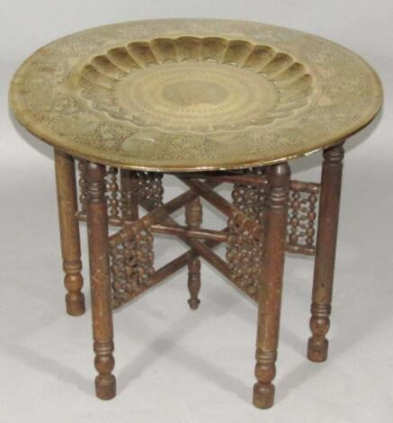 A Berber Benares type table