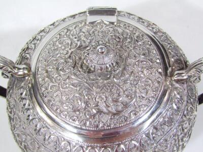 An early 20thC Indian five piece tea service - 6