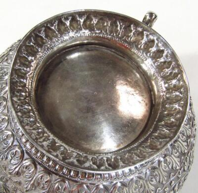 An early 20thC Indian five piece tea service - 7