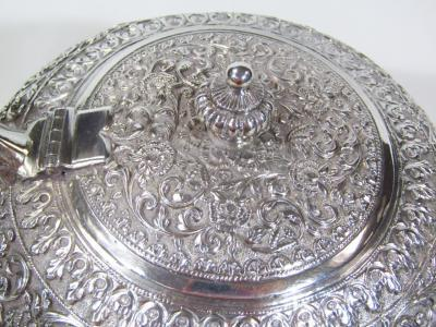 An early 20thC Indian five piece tea service - 21