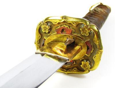 A Japanese officer's Samurai sword - 4