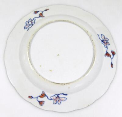 An 18thC Chinese porcelain plate - 2