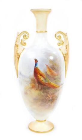 A Royal Worcester vase
