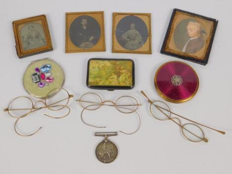 A Great War medal to Pte G Stamp