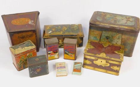 Victorian and later advertising tins