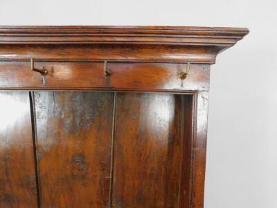 A Georgian oak and elm Welsh dresser - 3