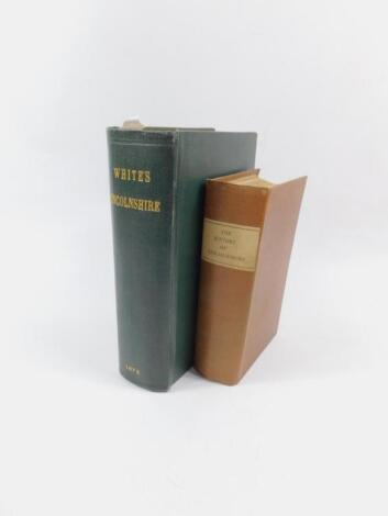 William White. History Gazetteer and Directory of Lincolnshire
