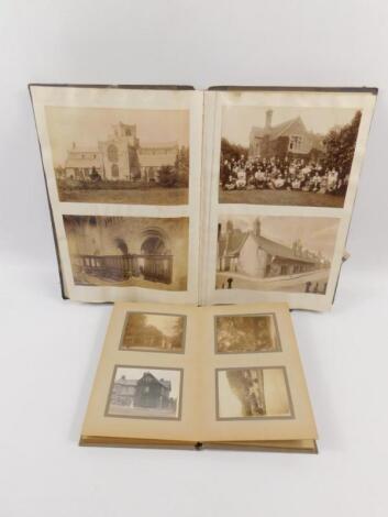 A Victorian holiday photograph album