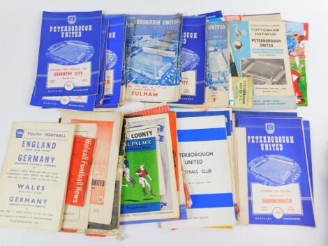 Football programmes; Peterborough United
