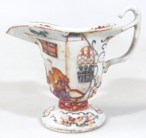 A 19thC Chinese design cream jug