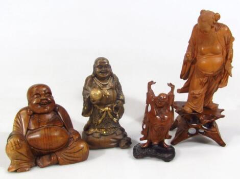 Four various figures of Buddha