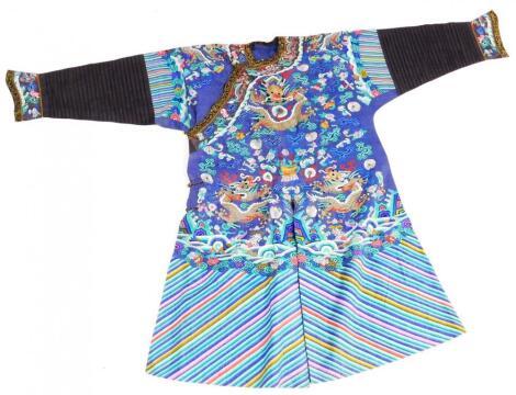 An early 20thC silk Jifu robe