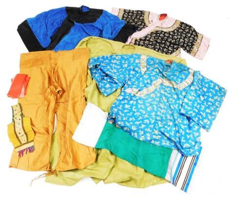 A Chinese silk jacket
