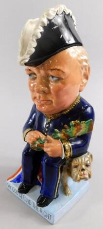 A Wilkinson Limited Royal Staffordshire Pottery Clarice Cliff toby jug