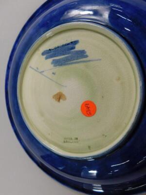 A Moorcroft Wisteria pattern shallow dish - 2