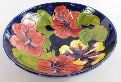 A Moorcroft Anemone pattern bowl