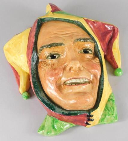 A Royal Doulton ceramic wall mask