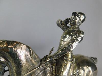 After John Willis Good (1845-1879). A pair of models of huntsmen on horseback - 2