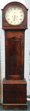 An early 19thC Irish longcase clock