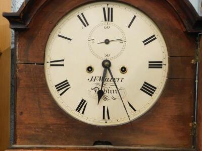 An early 19thC Irish longcase clock - 2