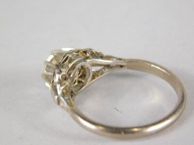 A diamond solitaire ring - 2