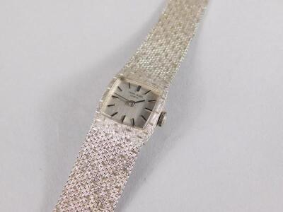An 18ct white gold Favre-Leuba wristwatch - 2