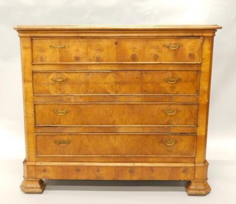 A French cherry commode