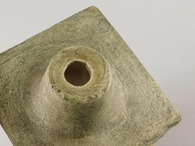 A Troika square section lamp base - 3