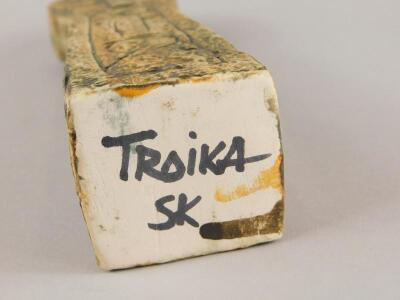 A Troika Celtic Cross vase - 3