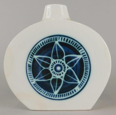 A Troika tin glazed flask - 2