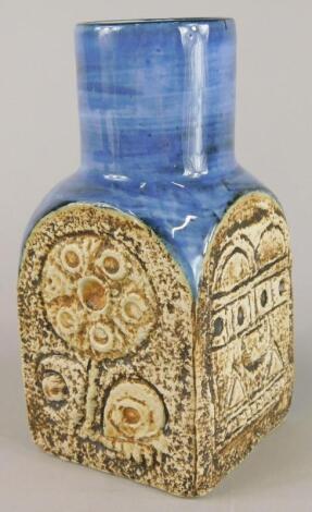 A Troika Newlyn spice jar
