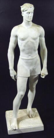 A Third Reich Der Sieger (The Victor) porcelain figure