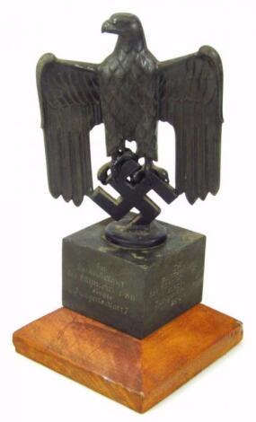 A Third Reich Hitler Jugend trophy