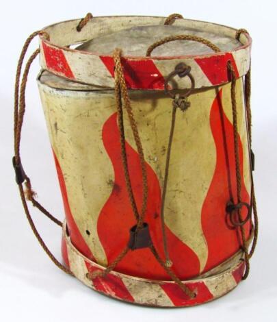A Third Reich Hitler Jugend side drum
