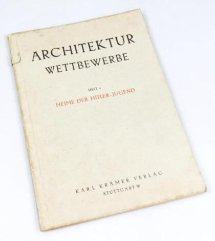 Architektur Wettbewerbe Heft 4 - Heime Der Hitler Jugend