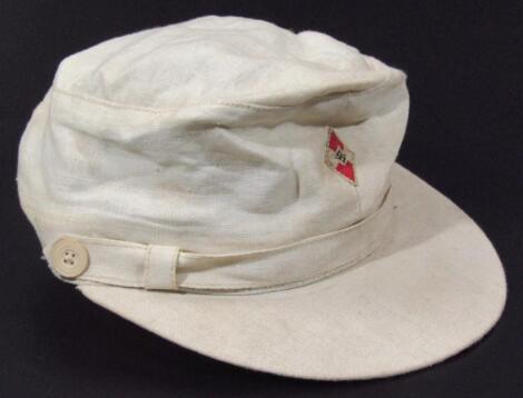 A Third Reich Hitler Jugend Ski Heil tropical cap