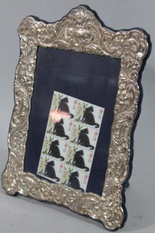 An Elizabeth II silver photograph frame