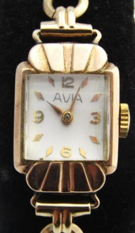A mid 20thC ladies cocktail watch