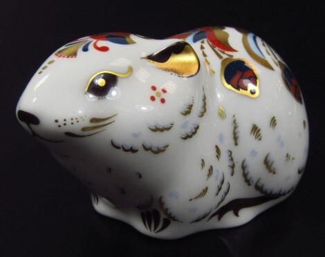 A Royal Crown Derby Collectors' Guild paperweight figure
