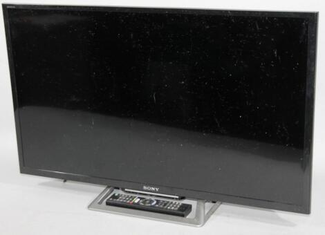 """A Sony Bravia 32"""" flat screen television"""