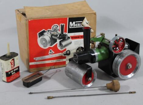 A Mamod SR1 steam roller