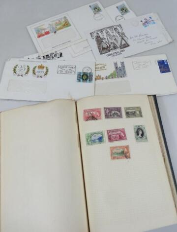 Various world used stamps