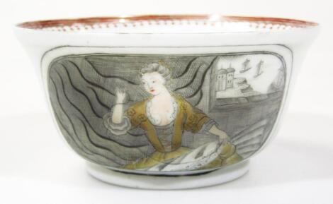A 18thC Chinese European style small bowl