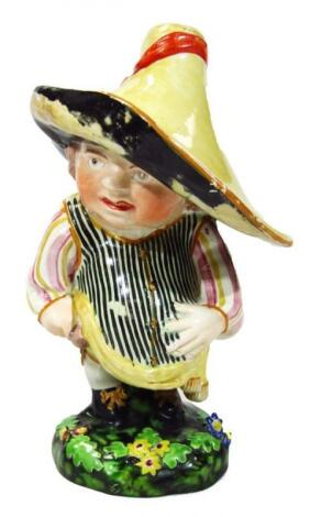An English pearlware figure