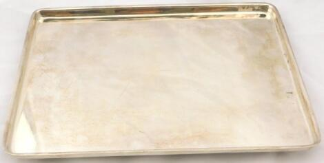 A Danish rectangular plated tray