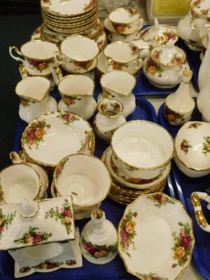 A large quantity of Royal Albert Old Country Roses pattern tea and dinner ware etc. - 2