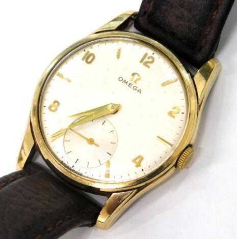 A gentlemans Omega wristwatch